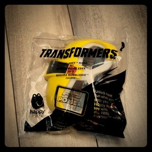 NWT Transformers Happy Meal Mask
